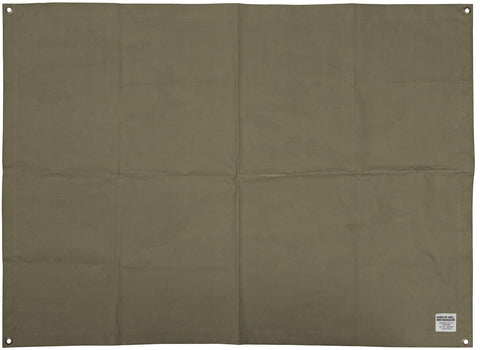 Laminated Fabric Mat - Large Olive