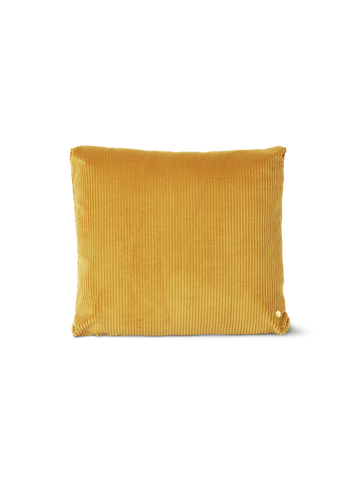 Corduroy Cushion in Mustard by Ferm Living