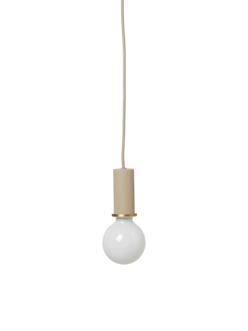 Socket Pendant Low in Cashmere by Ferm Living