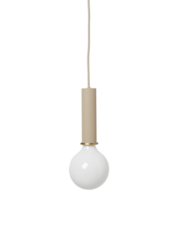 Socket Pendant High in Cashmere by Ferm Living
