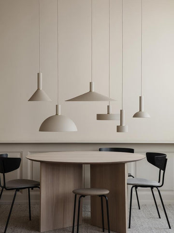 Record Shade in Light Grey by Ferm Living