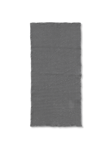 Organic Hand Towel in Grey by Ferm Living