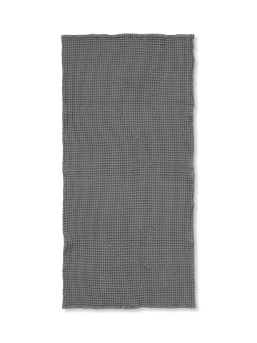Organic Bath Towel in Grey by Ferm Living