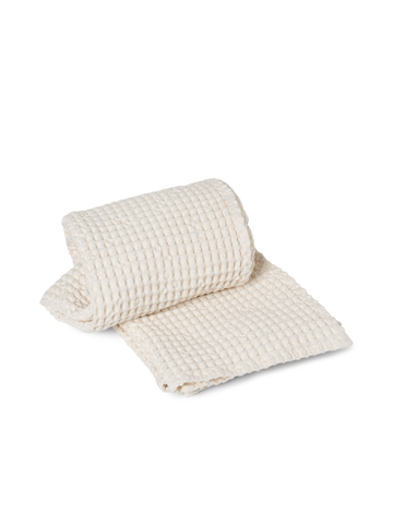 Organic Bath Towel in Off White by Ferm Living