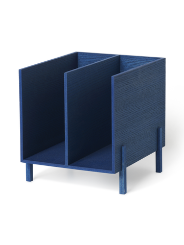 Paper Organiser in Blue Stained Ash by Ferm Living