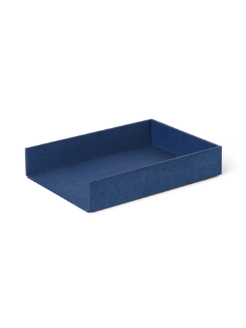 Letter Tray in Blue Stained Ash by Ferm Living