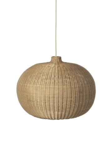 Braided Belly Lamp Shade by Ferm Living