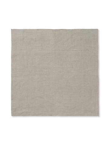 Linen Napkin (Set of 2) in Beige by Ferm Living