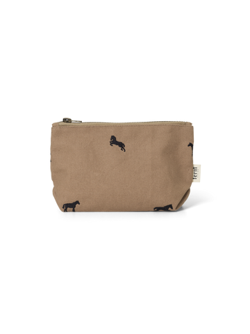 Horse Embroidery Bag in Small Tan by Ferm Living
