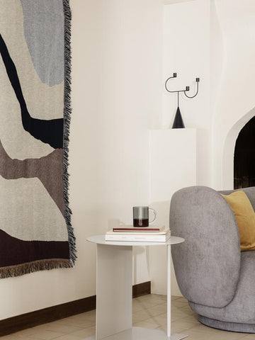 Vista Blanket in Off-White by Ferm Living