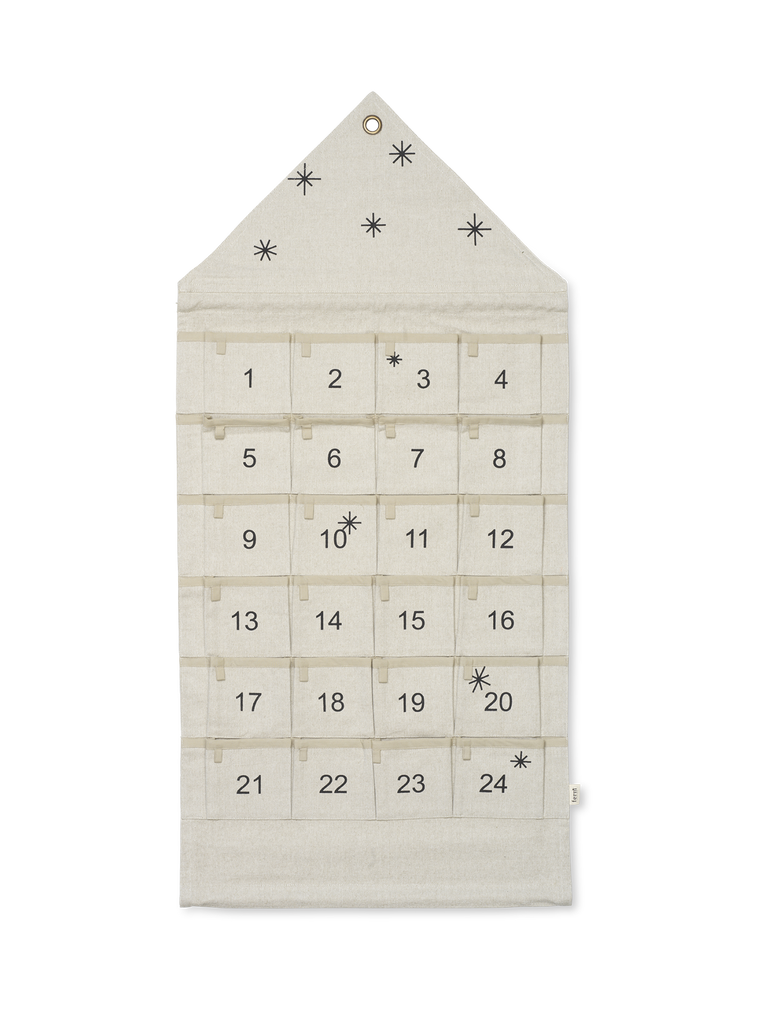 Star Christmas Calendar in Various Colors