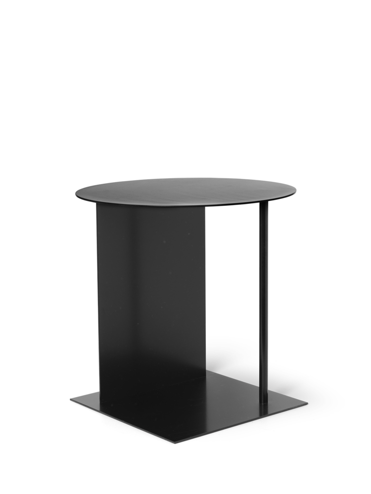 Place Side Table in Black by Ferm Living