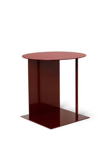 Place Side Table in Red Brown by Ferm Living