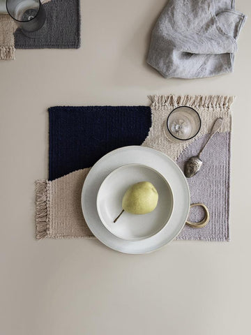 Sekki Plate in Small Cream by Ferm Living