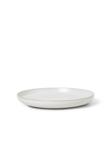 Sekki Plate in Large Cream by Ferm Living