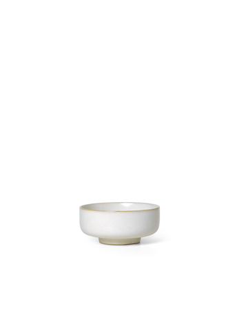 Sekki Bowl in Small Cream by Ferm Living
