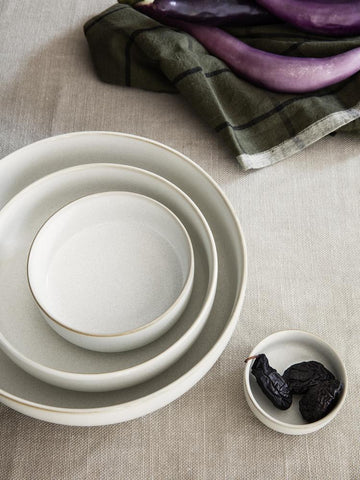 Sekki Bowl in Medium Cream by Ferm Living