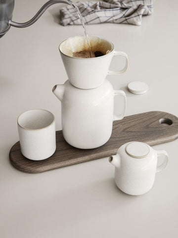 Sekki Coffee Pot in Cream by Ferm Living
