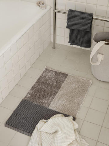 Pile Bathroom Mat in Grey by Ferm Living