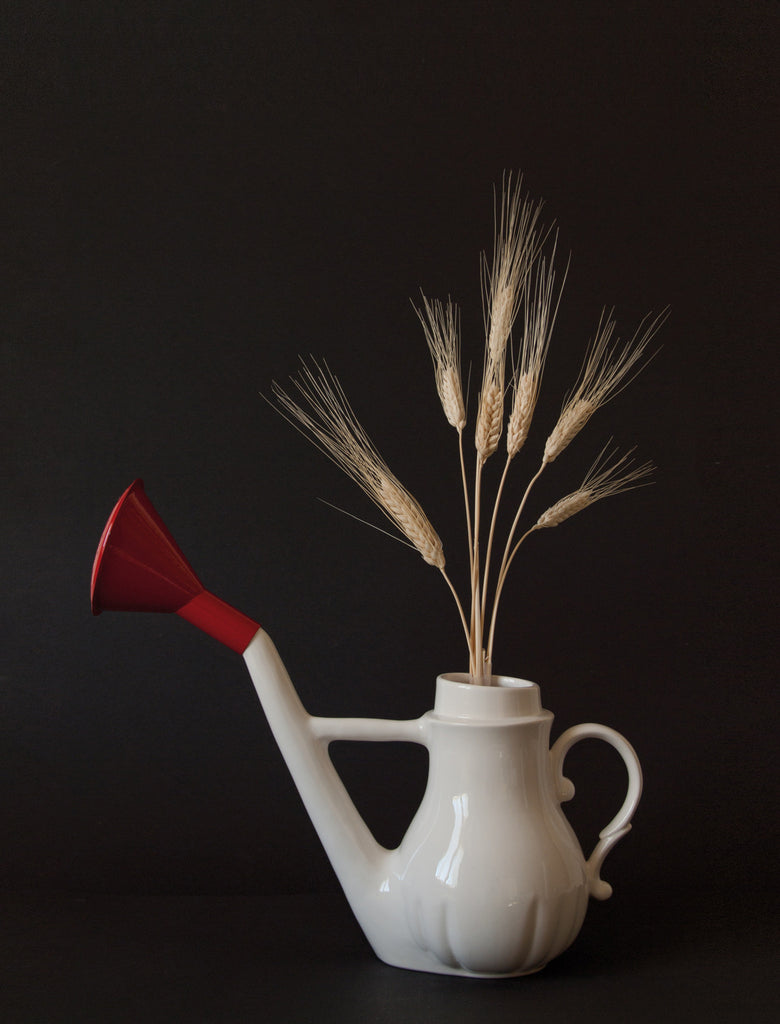 Swan Porcelain Watering Can design by Seletti