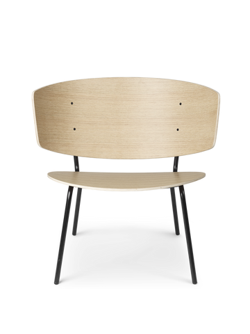 Herman Lounge Chair in Natural Oak by Ferm Living