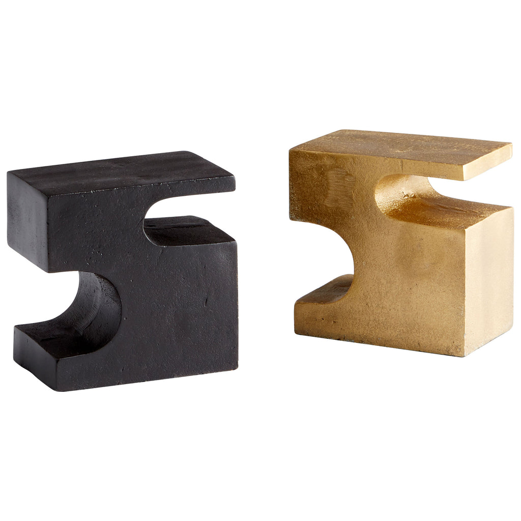 Two Piece Bookends