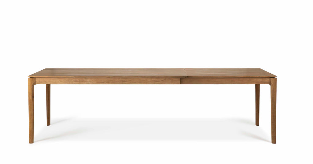 Teak Bok Extendable Dining Table by Ethnicraft