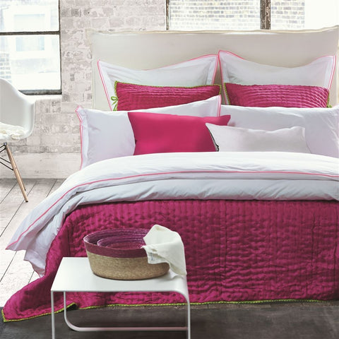 Astor Peony & Pink Bedding design by Designers Guild