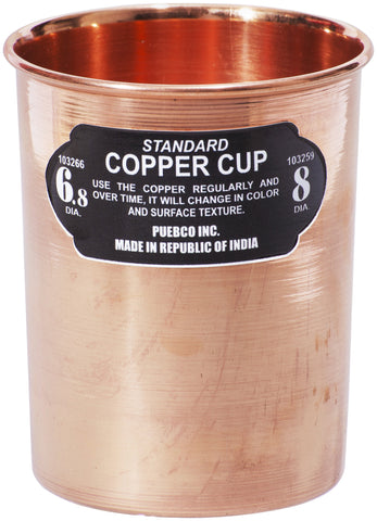 Copper Cup - Straight design by Puebco