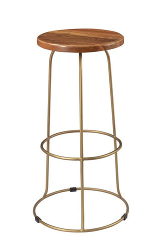 Wilco Bar Stool in Brass design by Blackhouse