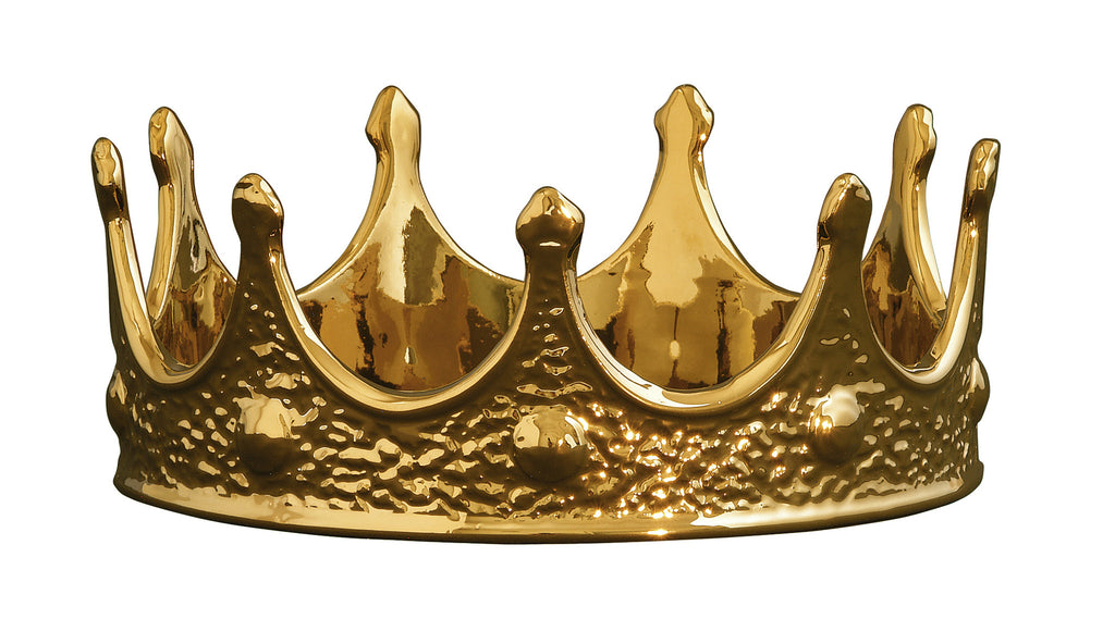Limited Gold Edition Gold Crown design by Seletti
