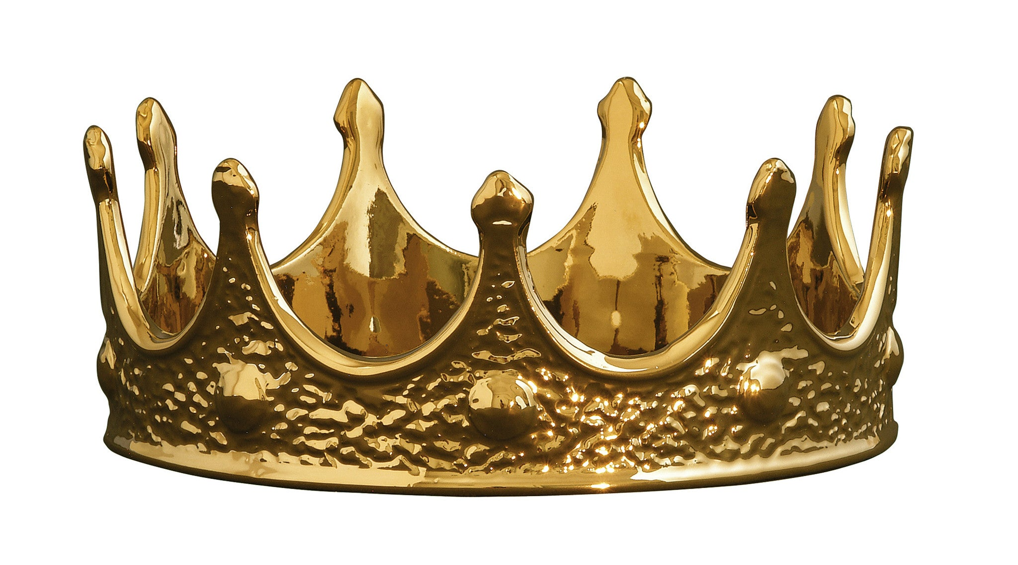 Limited Gold Edition Crown Design By Seletti Burke Decor