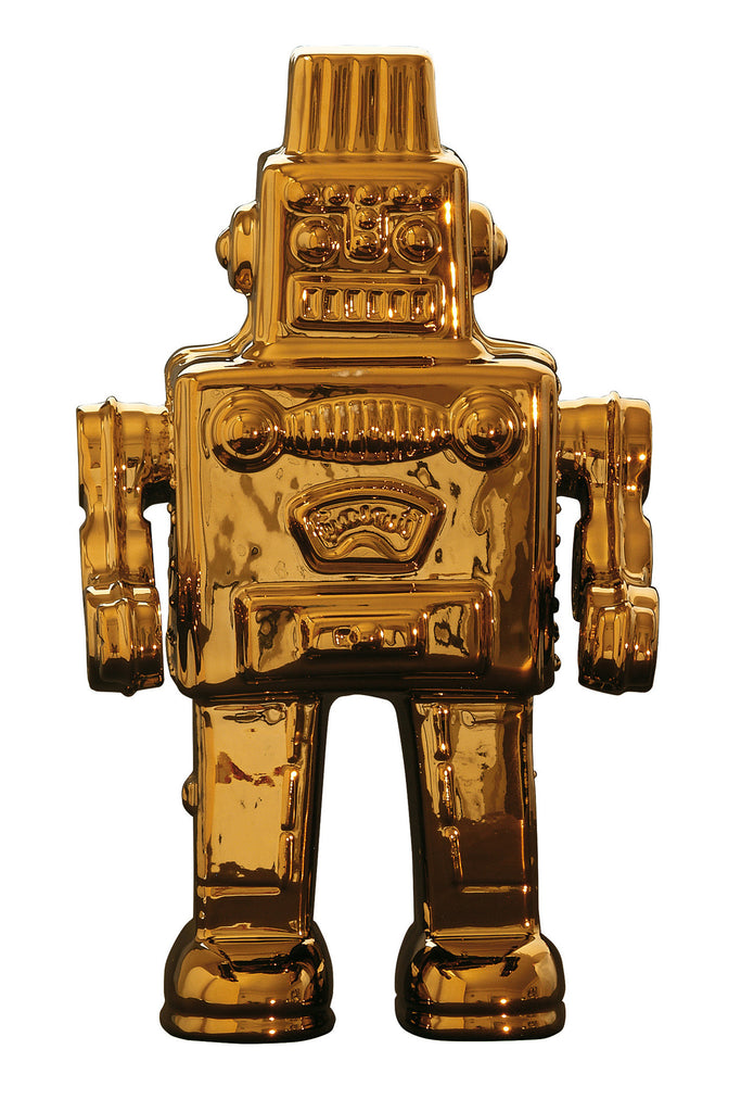 Limited Gold Edition Robot design by Seletti