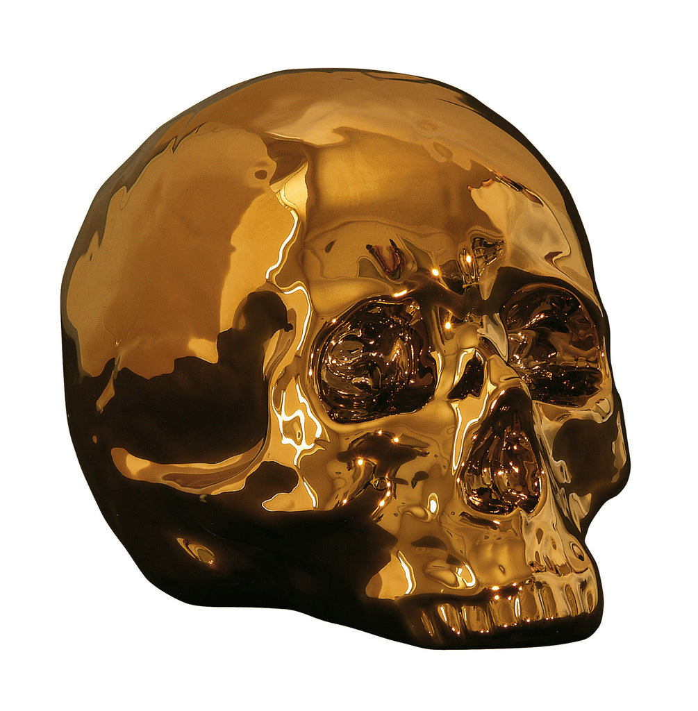 Limited Gold Edition Skull design by Seletti