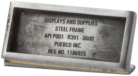 Steel Frame Rectangle W65 design by Puebco