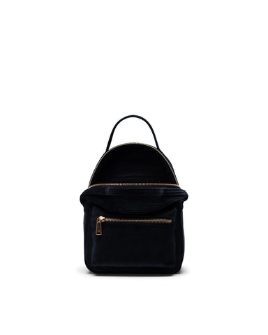 Nova Backpack Mini in Corduroy Black