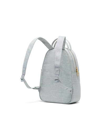 Nova Backpack in Small Light Grey Crosshatch