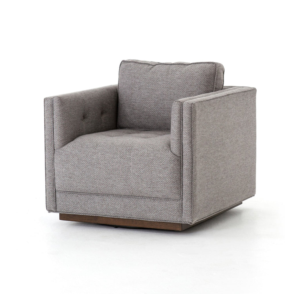 Kiera Swivel Chair in Various Colors