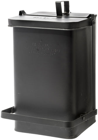 Step Trash Can - Black design by Puebco