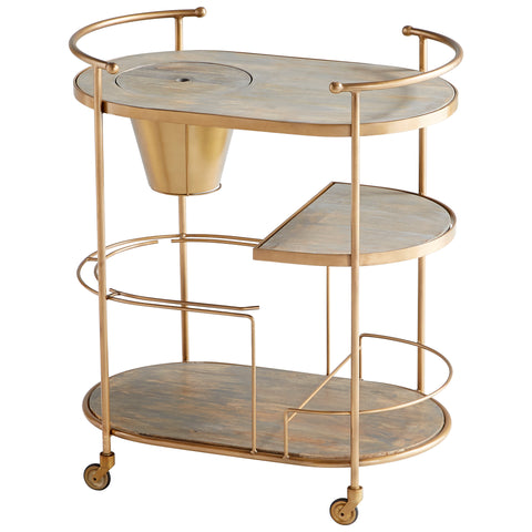 Barcraft bar Cart