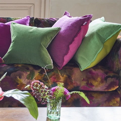 Milazzo Peony Decorative Pillow by Designers Guild