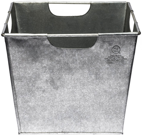 Steel Storage Box - Square design by Puebco
