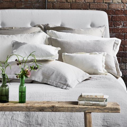Biella Ivory Bedding design by Designers Guild