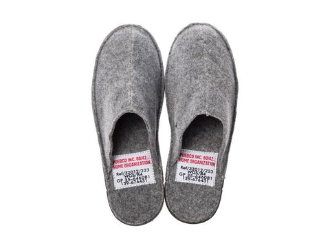 Slippers - Small/LightGray design by Puebco