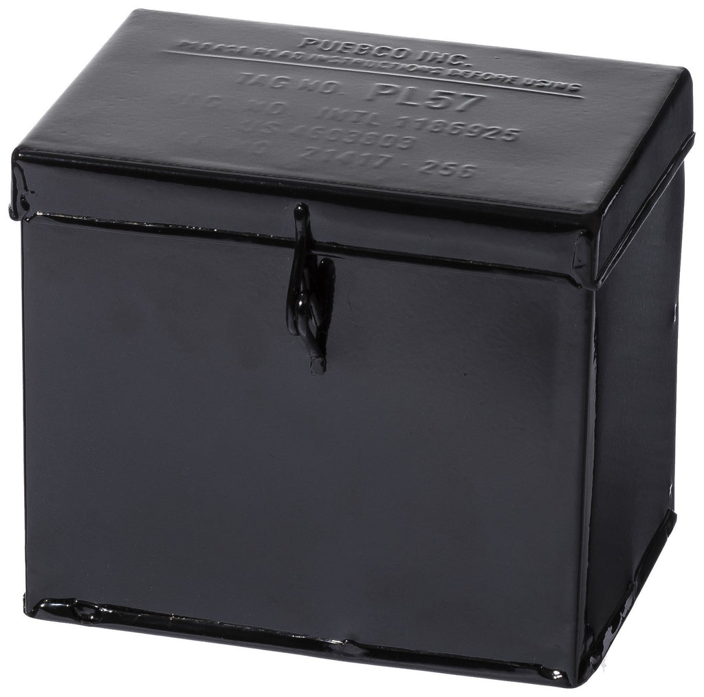 Container With Partition - Small Black