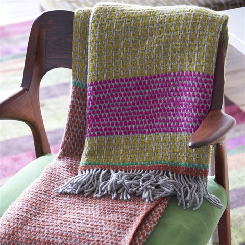 Jala Moss Throw by Designers Guild