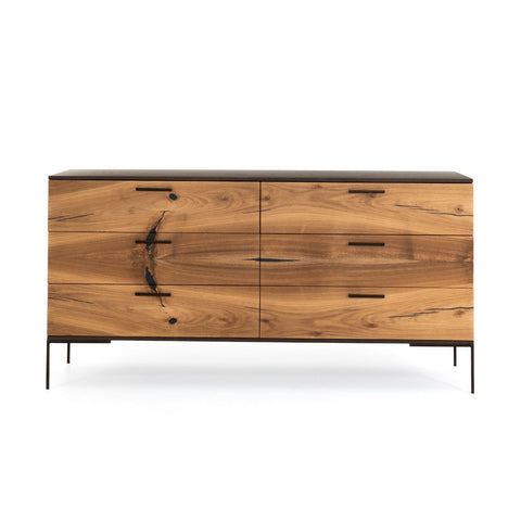 Cuzco 6 Drawer Dresser in Various Colors