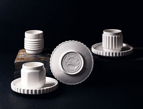 Machine Collection Porcelain Coffee Set design by Seletti