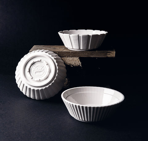 Machine Collection Porcelain Salad Bowls design by Seletti