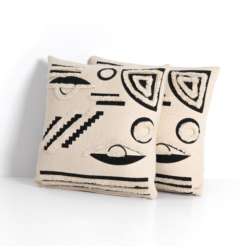 Ravi Pillow Set of 2 by BD Studio